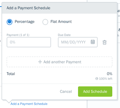Add additional payment fields.