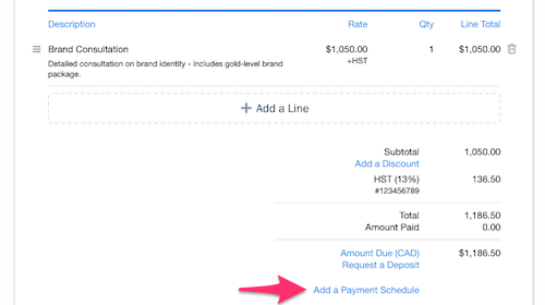 What Are Payment Schedules FreshBooks - Quickbooks invoice installments
